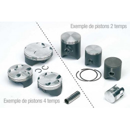 KIT PISTON HAUTE COMPRESSION KFX 450R COMPLET VERTEX
