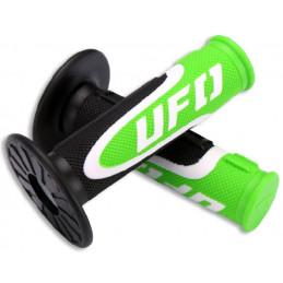 POIGNEES AXIOM VERT UFO (pour poignée gaz )