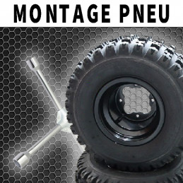 MONTAGE PNEU QUAD