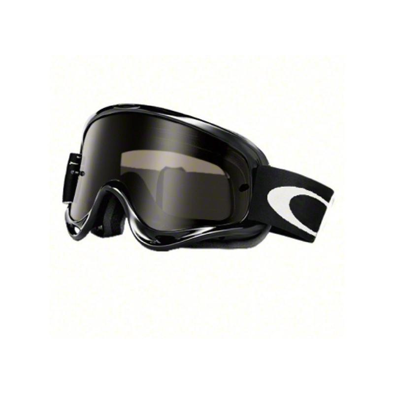 Masque Lunettes OAKLEY XS O Frame Sand Jet black écran Dark Grey +  transparent e1342df81f1d