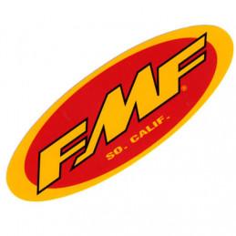 AUTOCOLLANT STICKERS FMF OVALE 12CM