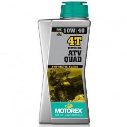 HUILE MOTOREX 10W40 ATV QUAD 4T 1L