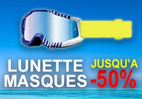 Lunette masques quad cross -50%